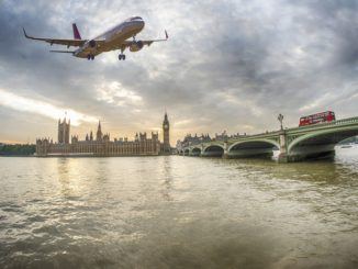 Частный самолет до Лондона
