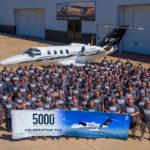 Cessna выпустила 5000 легких джетов