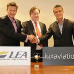 LEA присоединяется к Luxaviation Group